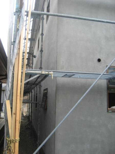 外壁-中塗り